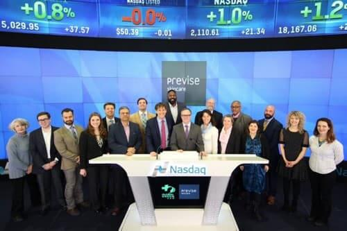 Previse rings Nasdaq bell